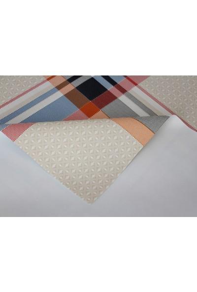 Dede Ev Tekstil Elyaflı Astarlı Pvc Silinebilir Muşamba Masa Örtüsü 1120-1A