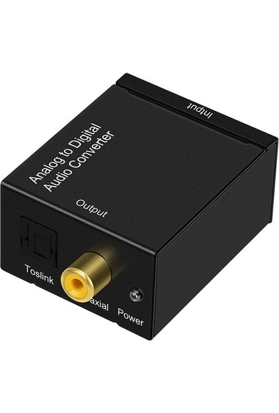 Tenon Analog To Digital Stereo Rca Optik Ses Çevirici Dönüştürücü