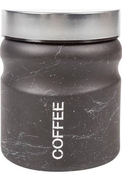 Mudo Concept Mermer Dokulu Kavanoz - Coffee 900Cc