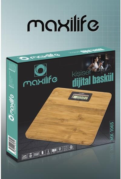Maxilife MX1065 Bambu Dijital Baskül