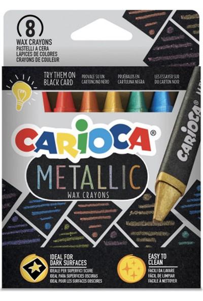 Carioca Metalik Maxi Wax Pastel Boya 8 Renk 43163