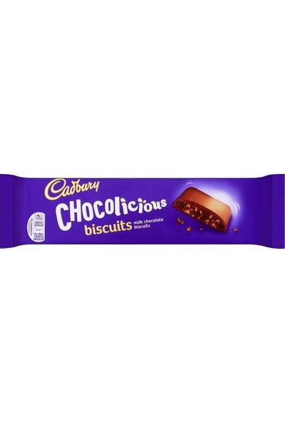 Cadbury Chocolicious Biscuit Çikolata Kaplı Bisküvi 110G