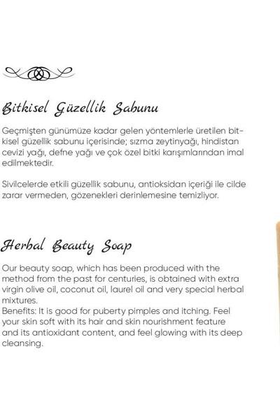 Akiksir Bitkisel Güzellik Sabunu 5 Adet 140 gr