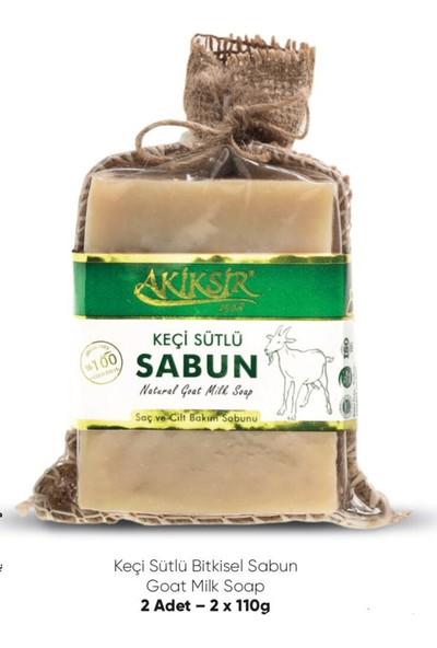 Akiksir Keçi Sütlü Sabun 4 Adet 220 gr