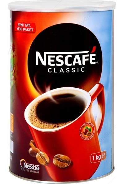 Nestle Nescafe Classic Teneke 1 kg