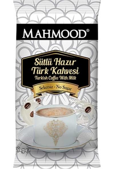 Mahmood Coffee Sütlü Türk Kahvesi Şekersiz 19 gr