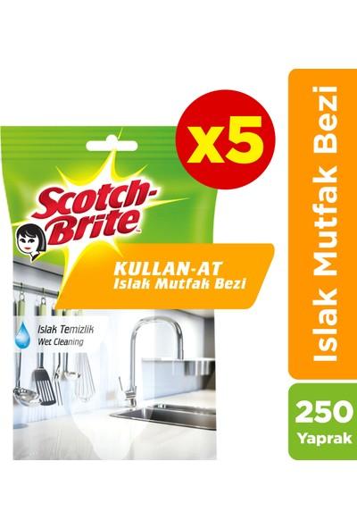 Scotch Brite Kullan-At Islak Mutfak BEZI-250 Yaprak(50*5)