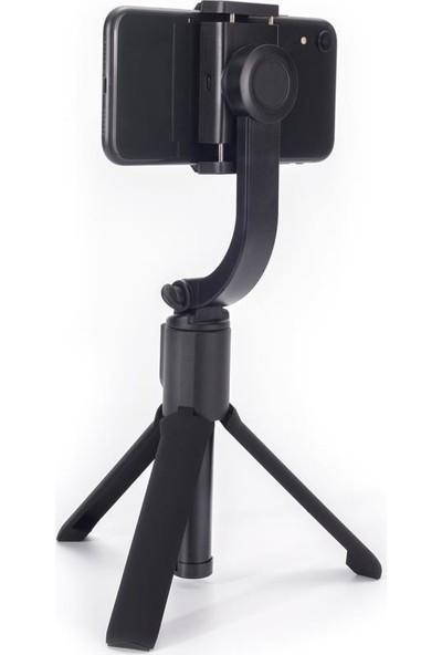 Polosmart PSM55 Zoom Professional Tek Motorlu Video Gimbal Siyah