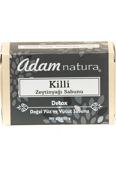 Adamnatura Killi Doğal Zeytinyağı Sabunu