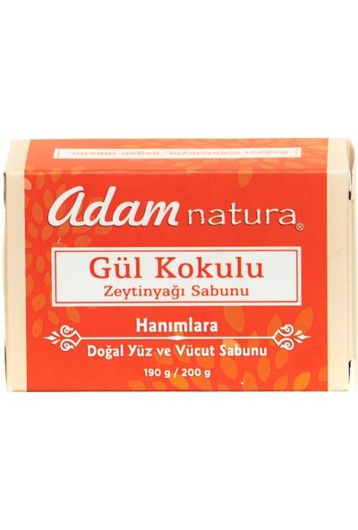 Adamnatura Güllü Doğal Zeytinyağı Sabunu