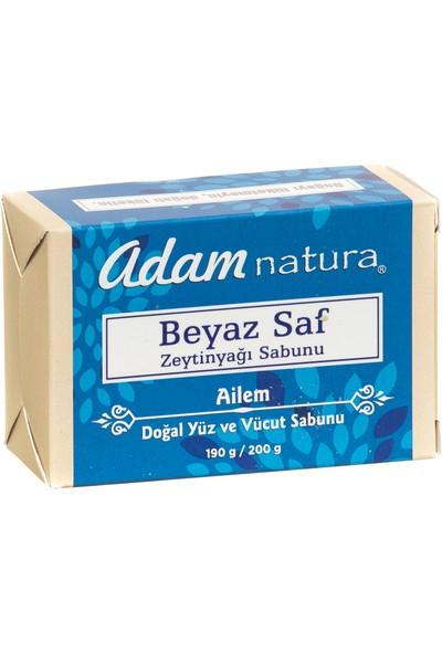 Adamnatura Beyaz Saf Zeytinyağı Sabunu