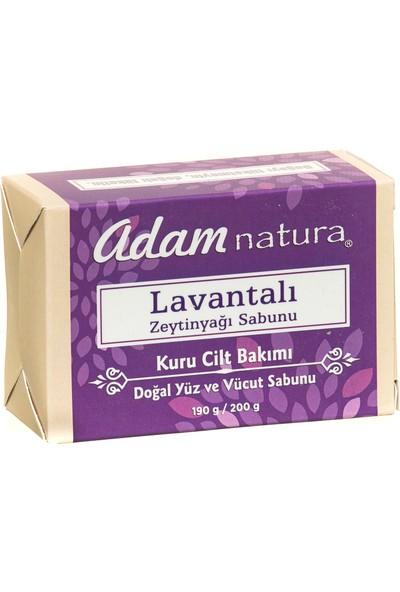 Adamnatura Lavantalı Doğal Zeytinyağı Sabunu