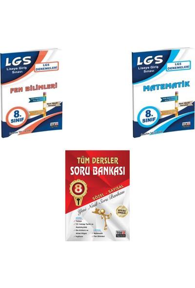Tekiz Yayınları LGS Tüm Dersler Soru Bankası ve Sayısal Set