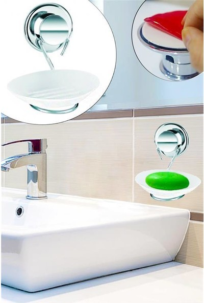 Softy Yapışkanlı Metal Sabunluk - Ç821 BNY.03584.00
