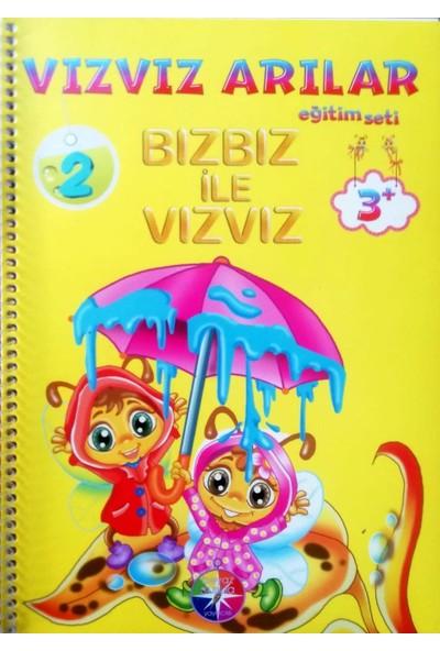 3 - 4 Yaş Vızvız Arılar Eğitim Seti 9 Kitap