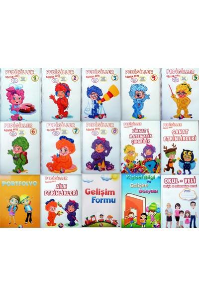 4 - 5 Yaş Pedigiller Eğitim Seti 12 Kitap