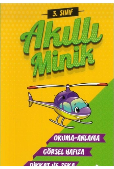 Atlı Karınca 3. Sınıf Akıllı Minik Okuma Anlama Görsel Hafıza