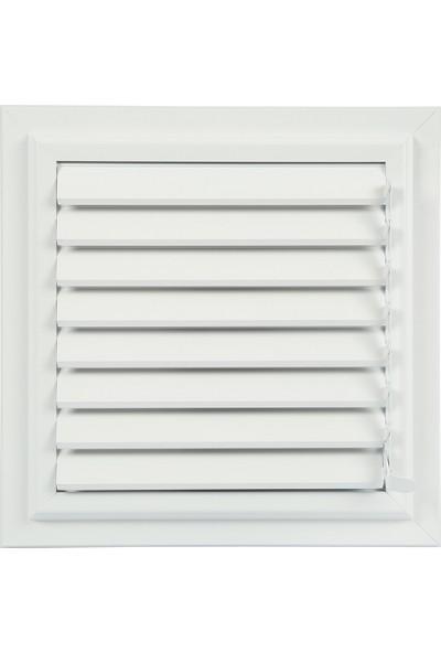 Altunöz Banyo-Wc Havalandırma 30 x 29 cm Alüminyum Beyaz Yüzeysel Menfez