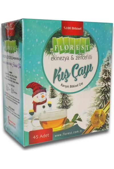 Florest Ekinezya & Zencefilli Kış Çayı Bitkisel Çay Süzen Poşet