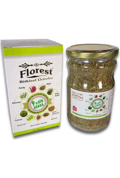 Florest 9'u Bir Arada Bitkisel Çay 200 gr