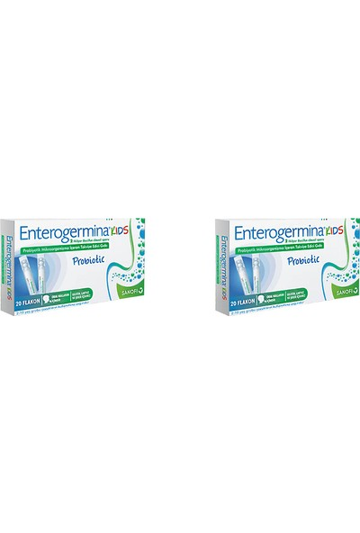 Enterogermina Kids Probiotic 20 Flakon 2 Adet