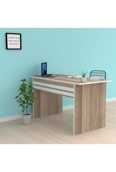 Kenzlife Ofis Masası Kohana 075*130*40 Crd Bilgisayar Çalışma Büro