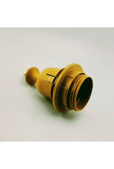 Eminönü Gezgini İthal Duy , E27 Yarım Diş Rondeleli, Thermoplast (Isıya Dayanıklı)