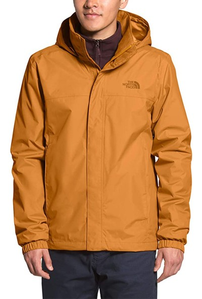 The North Face Erkek Outdoor Montu Sarı M Resolve 2 Jacket NF0A2VD5HBX1
