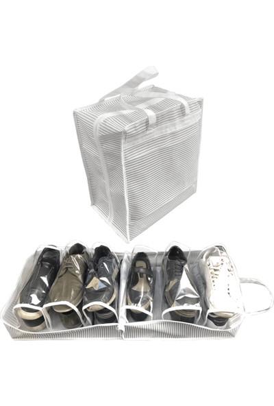 ALAS Ayakkabı Hurcu Taşınabilir Fermuarlı Ayakkabı Düzenleyici Organizer