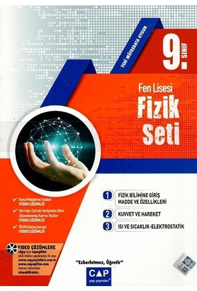 Çap Yayınları 9. Sınıf Fen Lisesi Fizik Seti