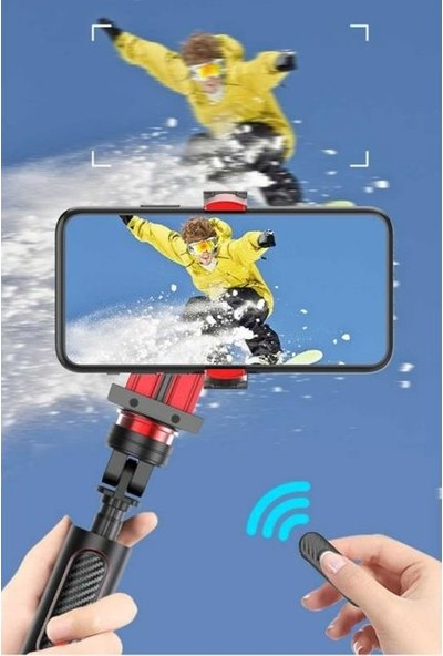 Nil Proker Sıcak Satış 1 Eksen El Gimbal Telefon Sabitleyici