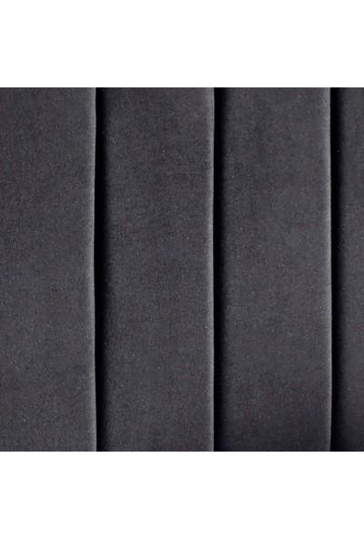 Niron Yatak Piano Lite Tek Kişilik Yatak Başlığı - 90 cm Siyah Kumaş Başlık