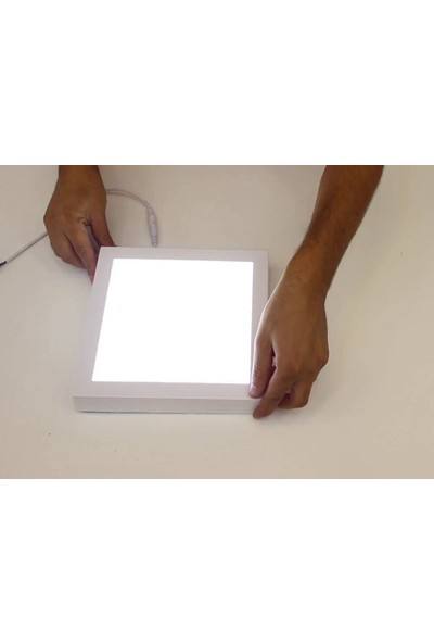 Ack 15W 4000K Ilık Beyaz S/ü LED Panel Kare ACK-AP04-31530