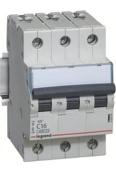 Legrand Trifaze 3X25A C Tipi Otomatik Sigorta 4,5ka 403344
