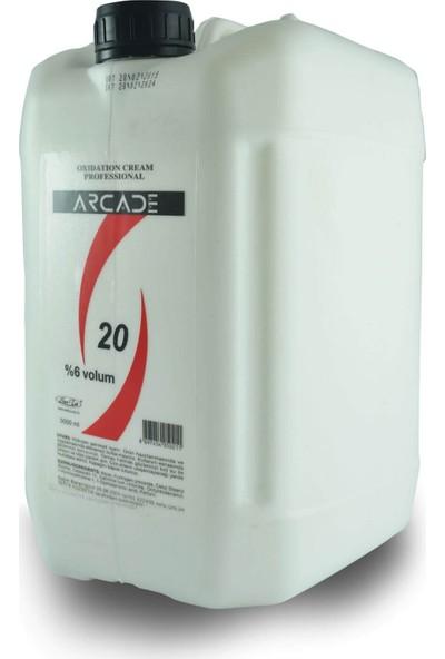 Arcade Oksidan Krem 20 Volume % 6 5000 ml