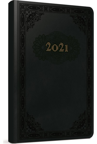 Gıpta Saphire 2021 Günlük Ajanda Siyah