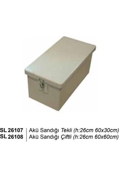 Sealux Akü Sandığı Çiftli (H:26CM 60X60CM)