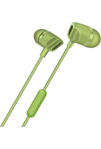 Polosmart FS43 Süperbass Kulakiçi Kulaklık Yeşil
