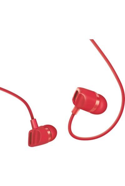 Polosmart FS43 Süperbass Kulakiçi Kulaklık Kırmızı