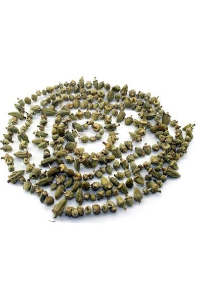 Antep Evinde Kurutulmuş Çiçek Bamya 250 gr