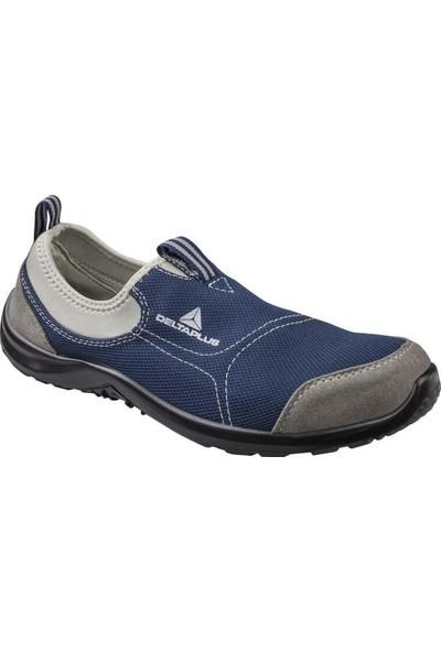 Delta Plus Miami S1P Çelik Burunlu Çelik Ara Tabanlı Iş Ayakkabısı Gri/mavi No 43