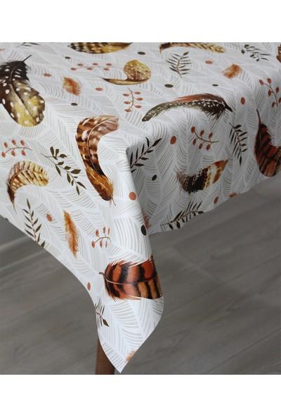 Dede Ev Tekstil Astarlı Silinebilir Pvc Leke Tutmaz Muşamba Masa Örtüsü 1125-2