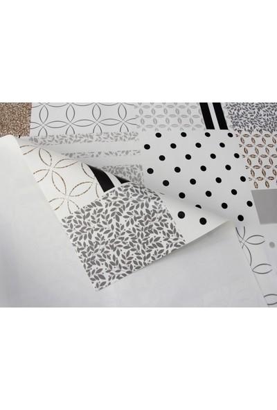 Dede Ev Tekstil Astarlı Silinebilir Pvc Leke Tutmaz Muşamba Masa Örtüsü 8063-1