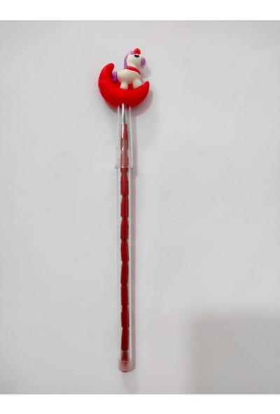 Cem Unicorn Yumurtlayan Kalem Kırmızı