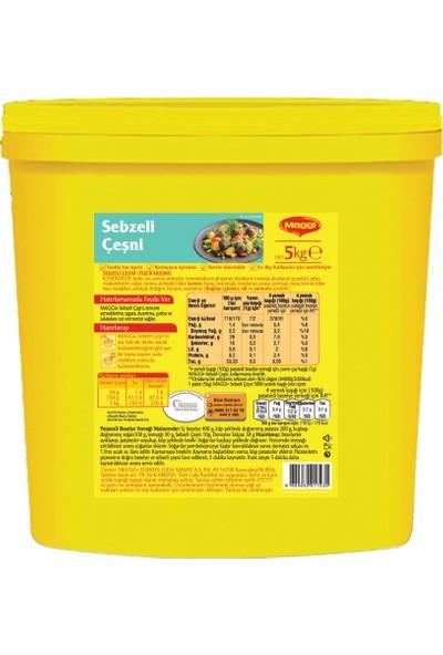 Maggi Sebzeli Çeşni 5 kg