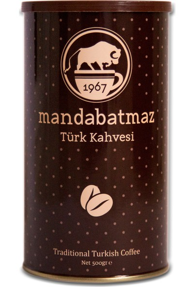 Mandabatmaz Türk Kahvesi 500 gr
