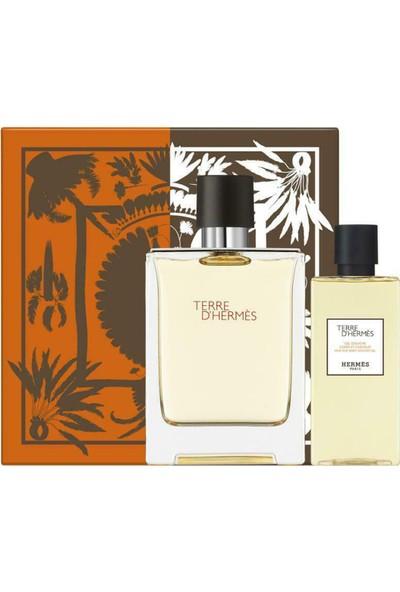 Hermes Terre D'hermes Edt 100 ml + Shower Gel 80 ml