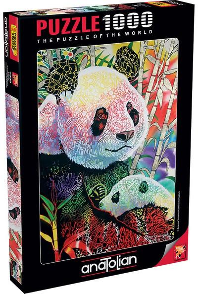 Anatolian Puzzle 1000 Parça Panda 1099