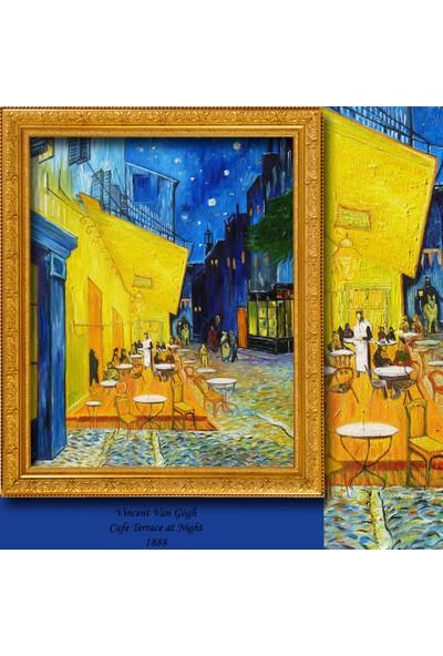 Cipcici Vincent Van Gogh Teras Cafe Blackout Perde