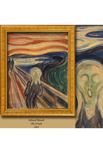 Cipcici Edvard Munch Çığlık Blackout Perde